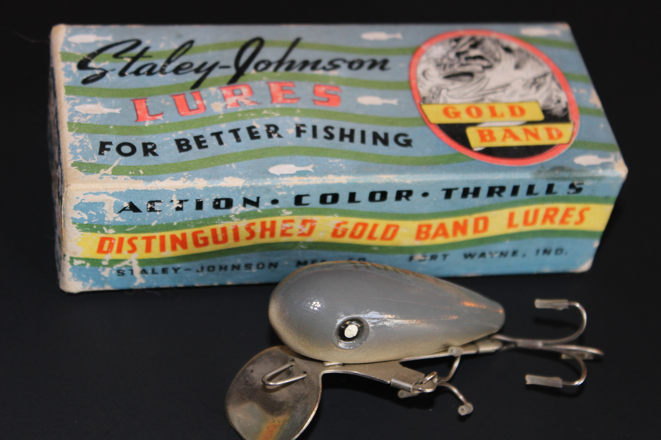 staley-johnson lures – old indiana lures, Hard Baits