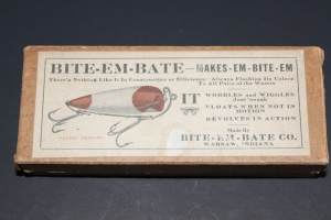 Rare Brown Bite Em Box